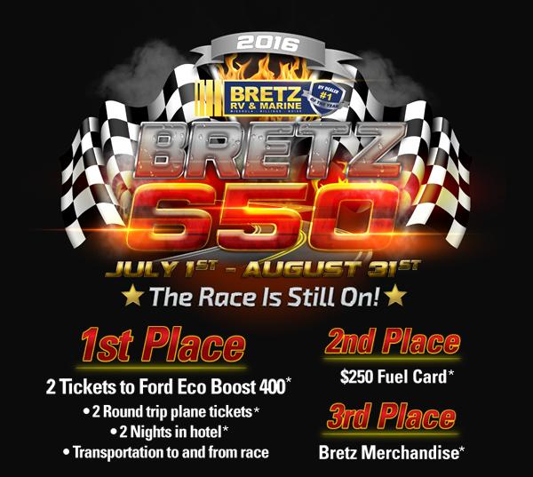 Bretz 650 Prize Giveaway