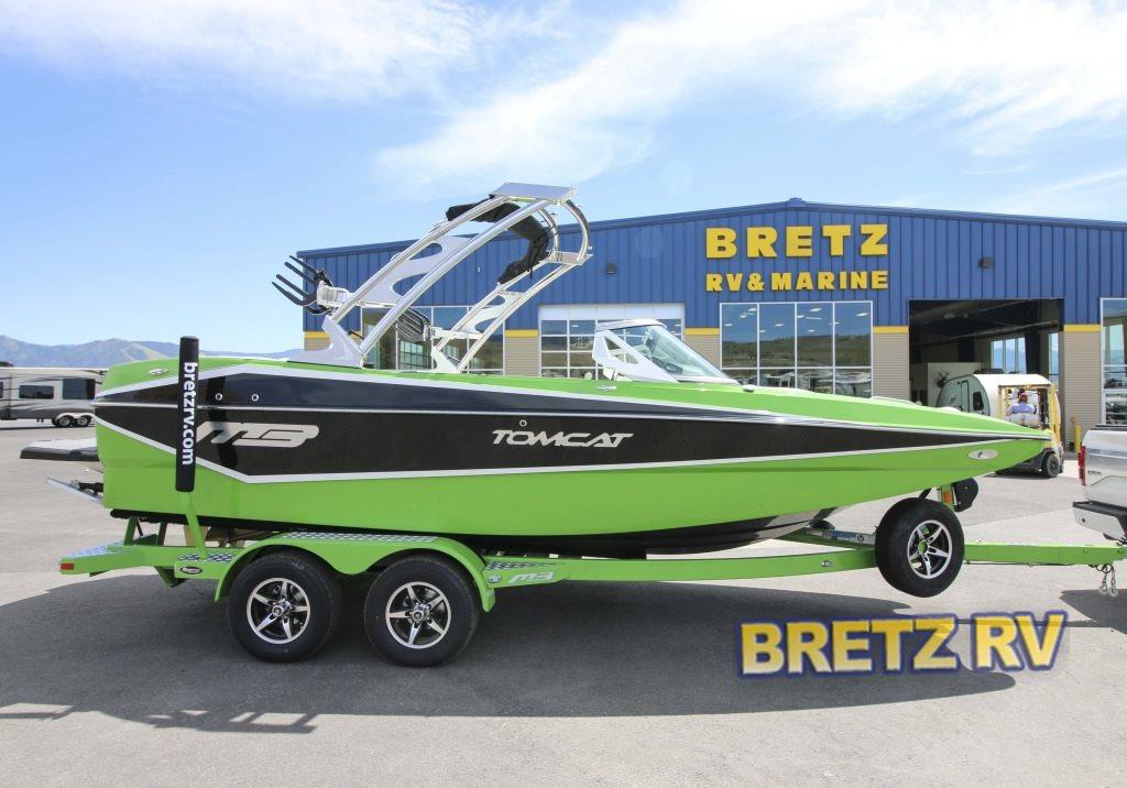 MB Sports Tomcat Boat Green
