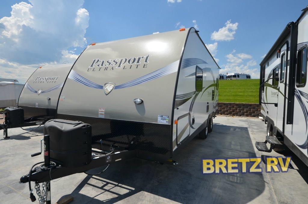 Keystone Passport 234QBWE travel trailer